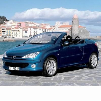 Autó izzók halogén izzóval szerelt Peugeot 206 CC (2000-2006)-hez