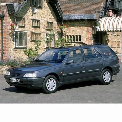Autó izzók halogén izzóval szerelt Peugeot 405 Kombi (1988-1997)-hoz