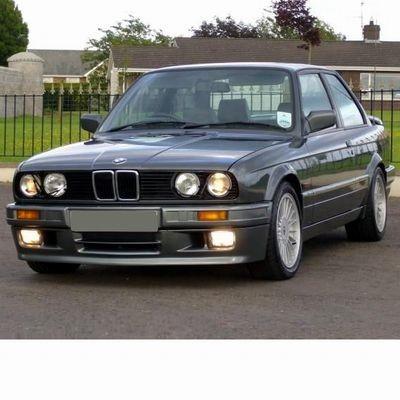 Autó izzók halogén izzóval szerelt BMW 3 (1987-1990)-hoz