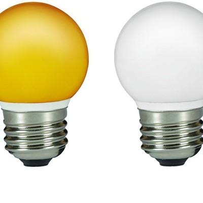 Colored E27 LED