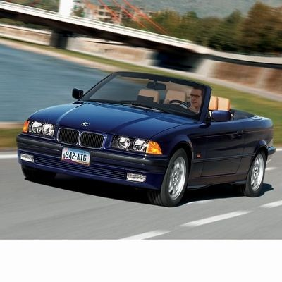 For BMW 3 Cabrio (1994-1999) with Halogen Lamps
