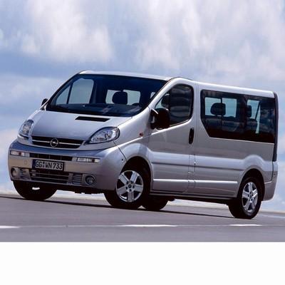 For Opel Vivaro (2001-2006) with Halogen Lamps