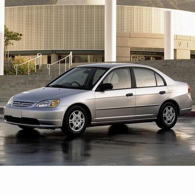 For Honda Civic Sedan (2000-2003) with Halogen Lamps