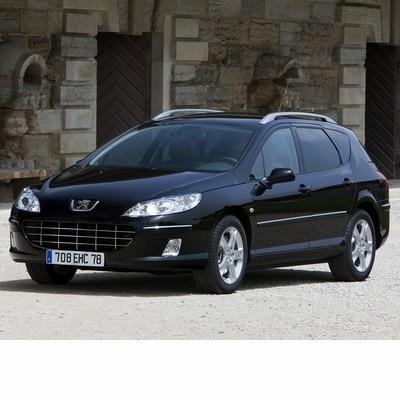 Autó izzók halogén izzóval szerelt Peugeot 407 Kombi (2004-2010)-hoz