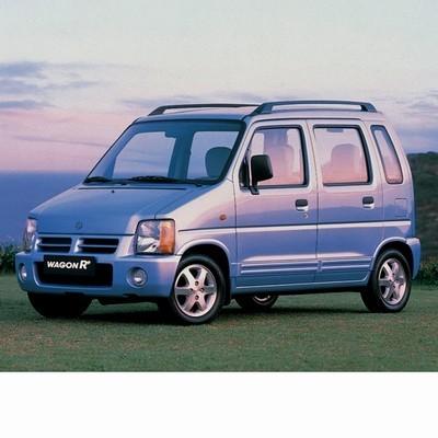 Autó izzók halogén izzóval szerelt Suzuki Wagon R+ (1997-2000)-hoz