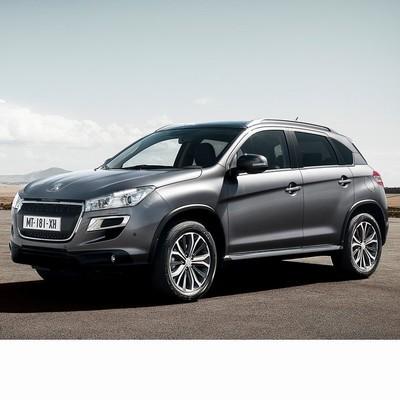 Autó izzók a 2012 utáni halogén izzóval szerelt Peugeot 4008-hoz