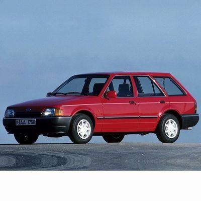 Autó izzók halogén izzóval szerelt Ford Escort Kombi (1986-1990)-hoz