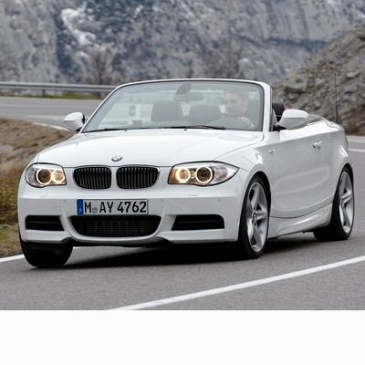 For BMW 1 Cabrio (2011-2014) with Halogen Lamps