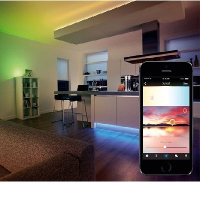 Wireless LED lighting