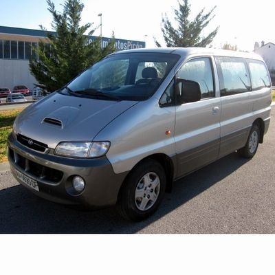 For Hyundai H1 Starex (1997-2008) with Halogen Lamps