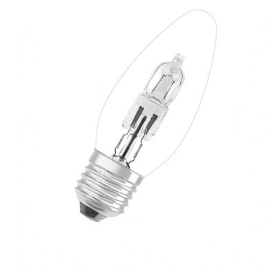 Osram E27 Candle Halogen Lamps