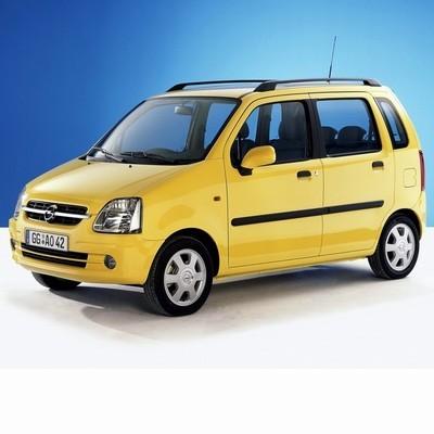 Autó izzók halogén izzóval szerelt Opel Agila (2000-2007)-hoz