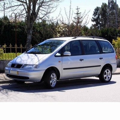 For Seat Alhambra (1996-2000) with Halogen Lamps