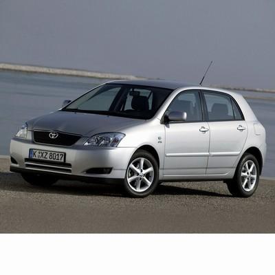 Autó izzók halogén izzóval szerelt Toyota Corolla 5 ajtós (2001-2004)-hoz