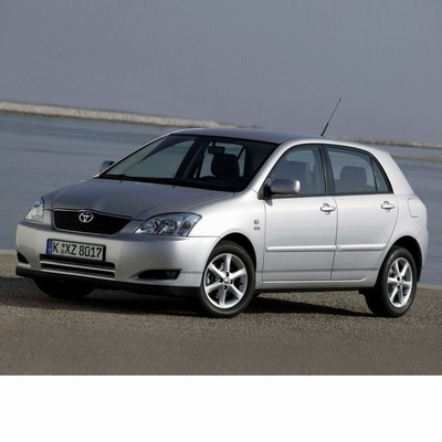For Toyota Corolla 5 doors (2001-2004) with Halogen Lamps