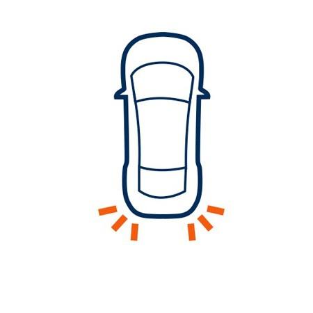 Hátsó irányjelző izzó Volkswagen Touran (2003-2006)-hoz