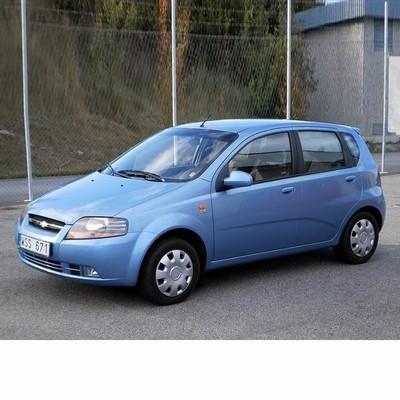 Autó izzók halogén izzóval szerelt Chevrolet Kalos (2005-2008)-hoz