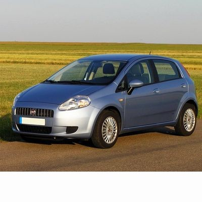 For Fiat Grande Punto (2005-2009) with Halogen Lamps