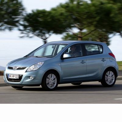 Autó izzók a 2009 utáni halogén izzóval szerelt Hyundai i20-hoz