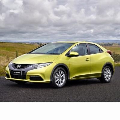 Autó izzók a 2012 utáni halogén izzóval szerelt Honda Civic-hez