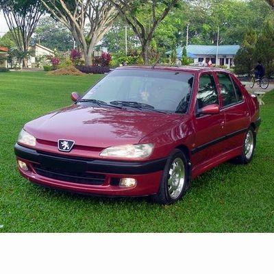 Autó izzók két halogén izzóval szerelt Peugeot 306 Sedan (1997-2002)-hoz
