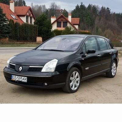 For Renault Vel Satis (2005-2009) with Halogen Lamps