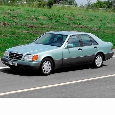Autó izzók halogén izzóval szerelt Mercedes S (1991-1995)-hez