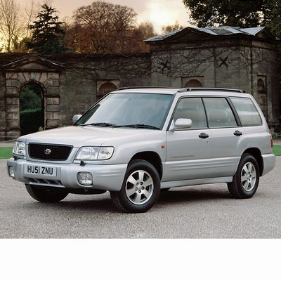 For Subaru Forester (1999-2002) with Halogen Lamps