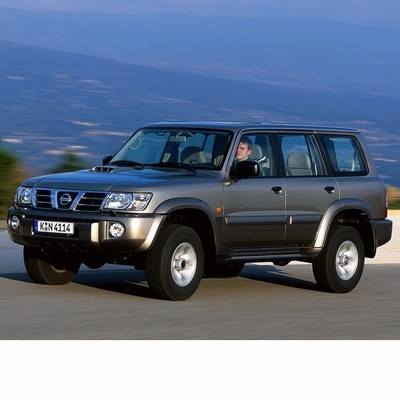 For Nissan Patrol (1997-2010) with Halogen Lamps