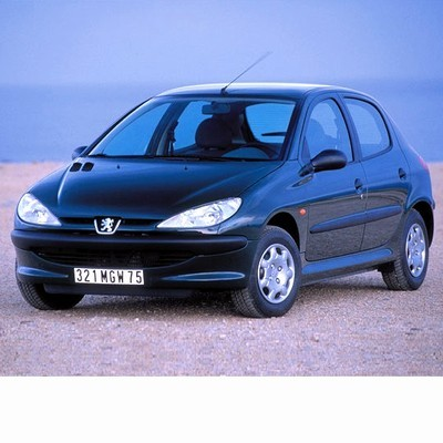 For Peugeot 206 (1998-2010) with Halogen Lamps
