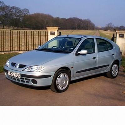 Autó izzók két halogén izzóval szerelt Renault Megane (1996-2003)-hoz