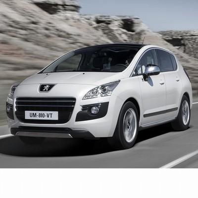 Autó izzók halogén izzóval szerelt Peugeot 3008 (2008-2012)-hoz