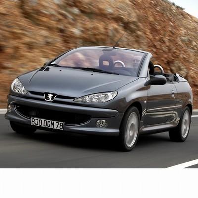 Autó izzók halogén izzóval szerelt Peugeot 206 CC (2006-2010)-hez