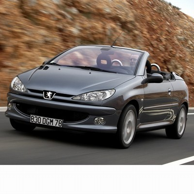 For Peugeot 206 CC (2006-2010) with Halogen Lamps
