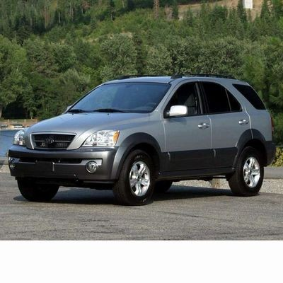 Autó izzók halogén izzóval szerelt Kia Sorento (2002-2009)-hoz