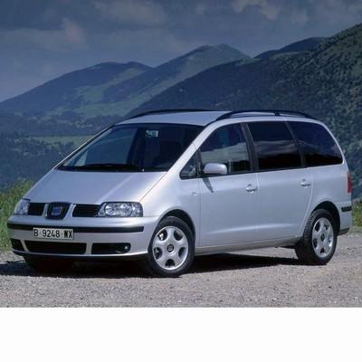 Autó izzók halogén izzóval szerelt Seat Alhambra (2001-2004)-hoz