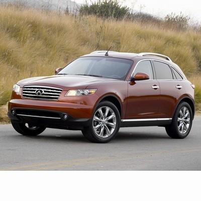 Autó izzók bi-xenon fényszóróval szerelt Infiniti Fx (2003-2008)-hez