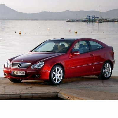 For Mercedes C Sportcoupe (2000-2007) with Halogen Lamps