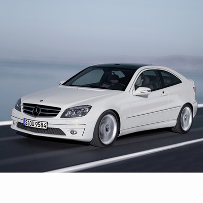 For Mercedes C Sportcoupe (2008-2011) with Halogen Lamps