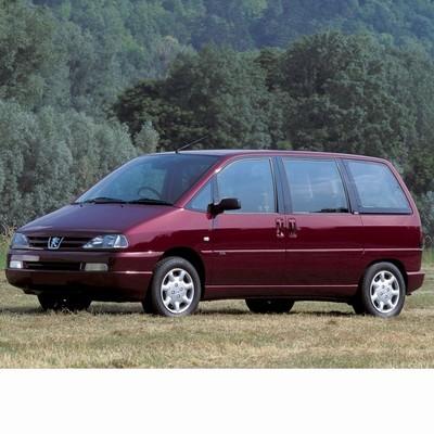 Autó izzók halogén izzóval szerelt Peugeot 806 (1994-2002)-hoz