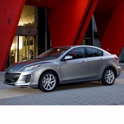 For Mazda 3 Sedan (2011-2013) with Halogen Lamps