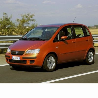 For Fiat Idea (2003-2012) with Halogen Lamps