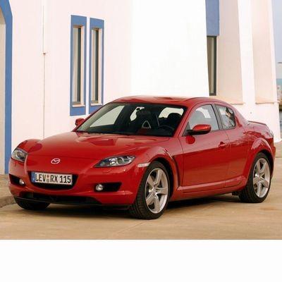 Autó izzók halogén izzóval szerelt Mazda RX-8 (2003-2012)-hoz