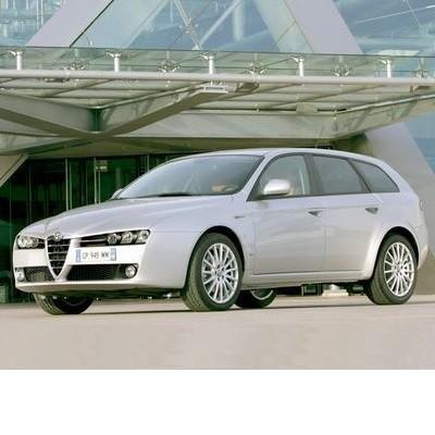 For Alfa Romeo 159 Sportwagon (2006-2011) with Halogen Lamps