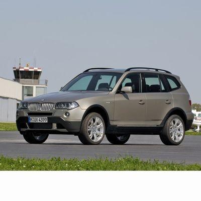 Autó izzók xenon izzóval szerelt BMW X3 (2006-2010)-hoz
