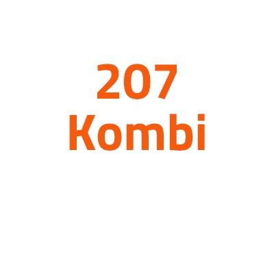 Peugeot 207 Kombi autó izzó