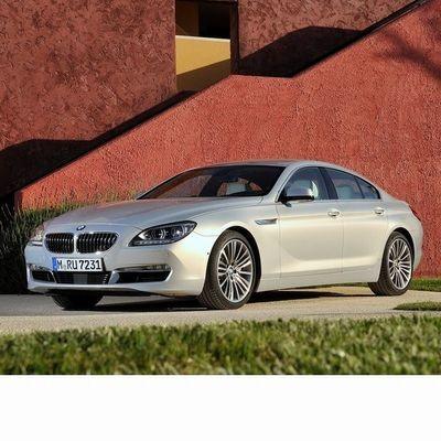 Autó izzók a 2012 utáni ledes fényszóróval szerelt BMW 6 Gran Coupe (F06)-hoz