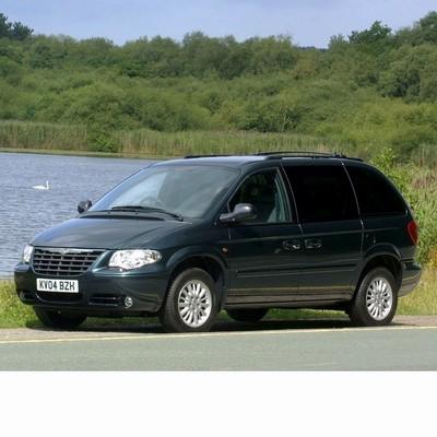 Autó izzók halogén izzóval szerelt Chrysler Voyager (2005-2008)-hez