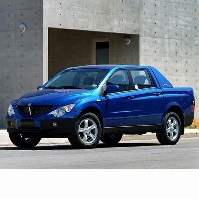 Autó izzók halogén izzóval szerelt Ssangyong Actyon Sports (2005-2011)-hoz