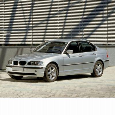 Autó izzók halogén izzóval szerelt BMW 3 (2002-2005)-hoz